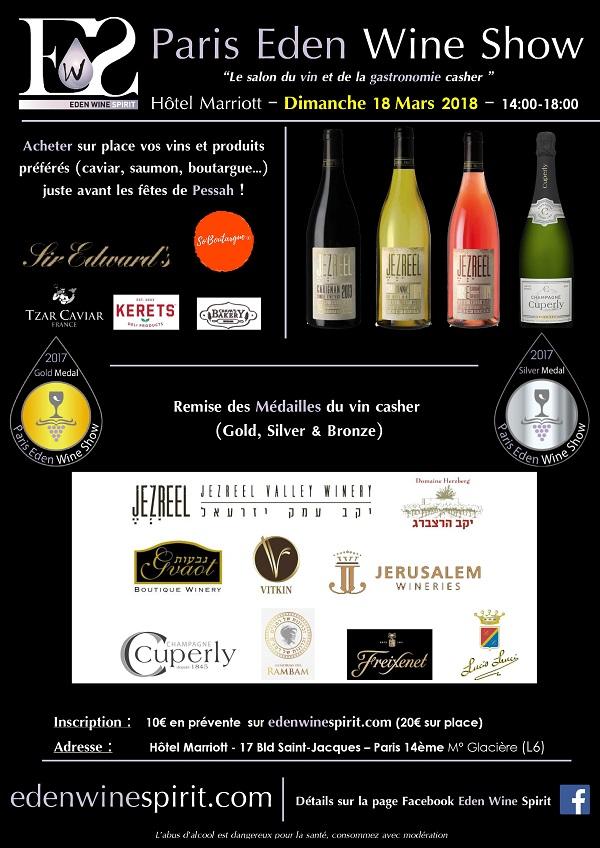 Paris Eden Wine Show 2018